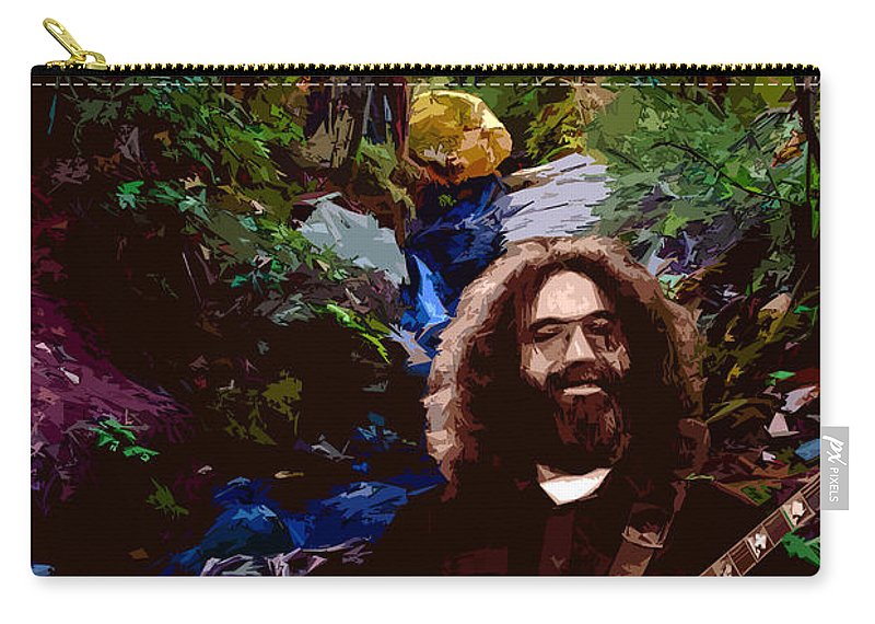 Jerry Garcia Carry-all Pouch featuring the photograph Garcia On Tam 3 by Ben Upham III