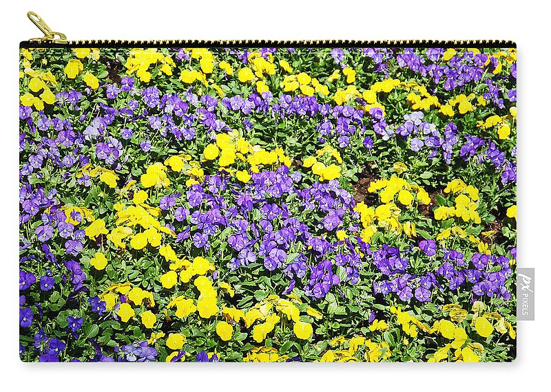 Flower Carry-all Pouch featuring the photograph Garden Design by Aimee L Maher ALM GALLERY