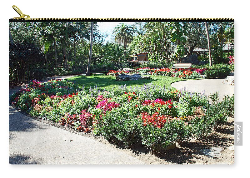 Garden Carry-all Pouch featuring the photograph Garden Park by Aimee L Maher ALM GALLERY