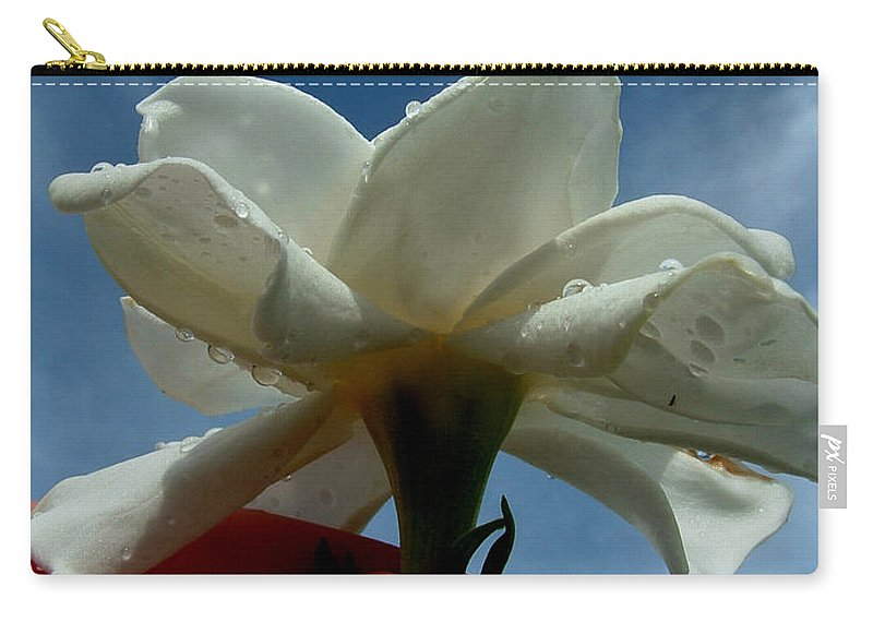 Gardenia Carry-all Pouch featuring the photograph Gardenia For You My Dear by David Weeks