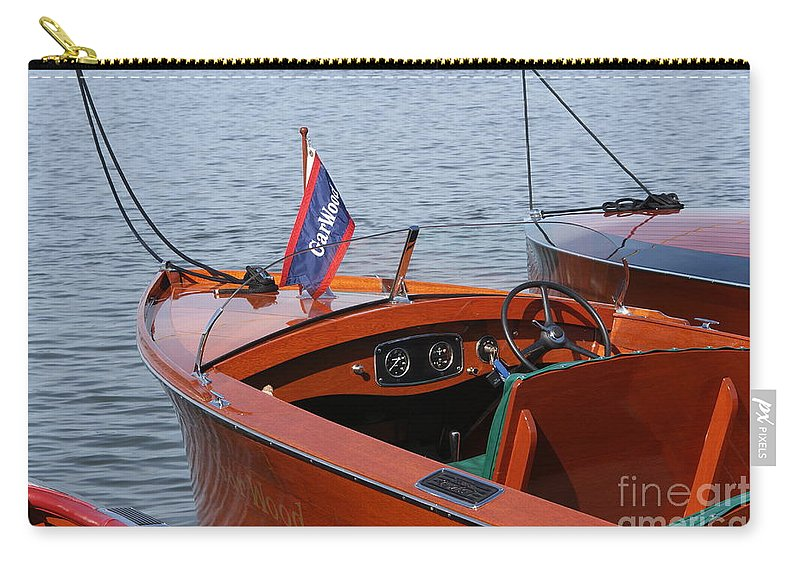Boat Carry-all Pouch featuring the photograph Garwood by Neil Zimmerman