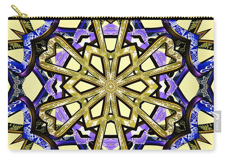 Gates Of Life Carry-all Pouch featuring the digital art Gates Of Life by Derek Gedney