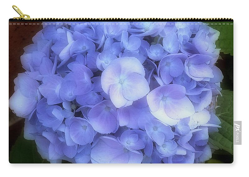 Hydrangea Carry-all Pouch featuring the photograph Gauzy Blues by RC DeWinter