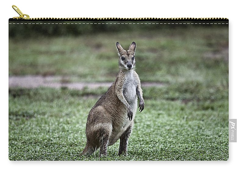 G'day Mate Carry-all Pouch featuring the photograph G'day Mate by Douglas Barnard