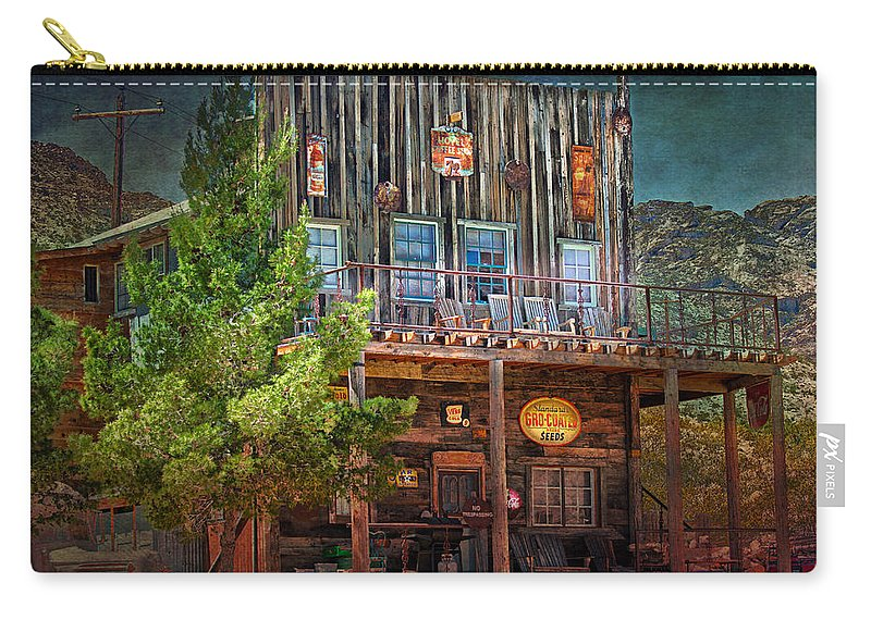 General Carry-all Pouch featuring the photograph General Store by Gunter Nezhoda