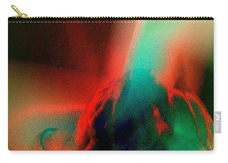 Birth Carry-all Pouch featuring the photograph Genesis by Jacqueline McReynolds
