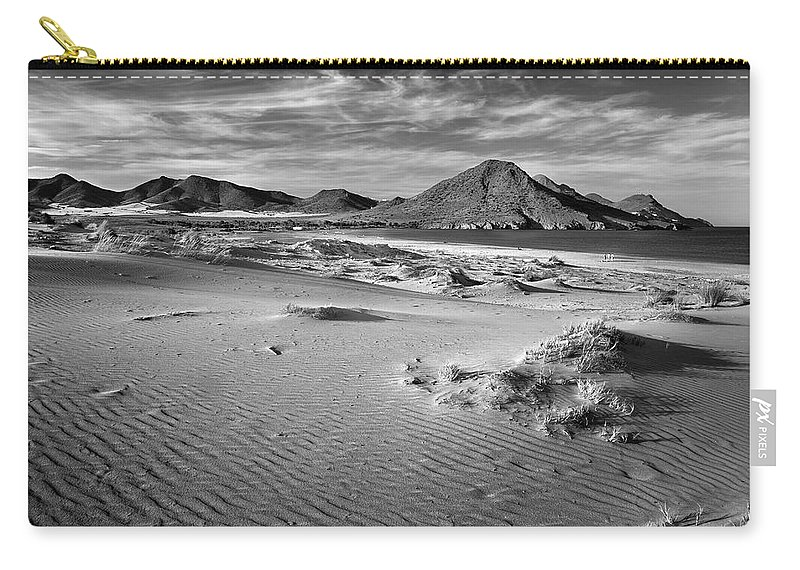 Monochrome Carry-all Pouch featuring the photograph Genoveses by Guido Montanes Castillo