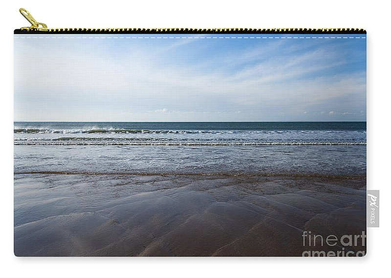 Ocean Carry-all Pouch featuring the photograph Gentle Waves by Anne Gilbert