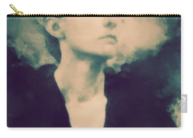 Georgia Carry-all Pouch featuring the photograph Georgia O'keefe by Paulette B Wright