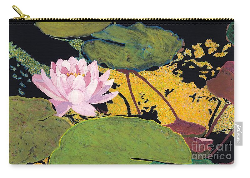 Landscape Carry-all Pouch featuring the painting Georgia Summer by Allan P Friedlander