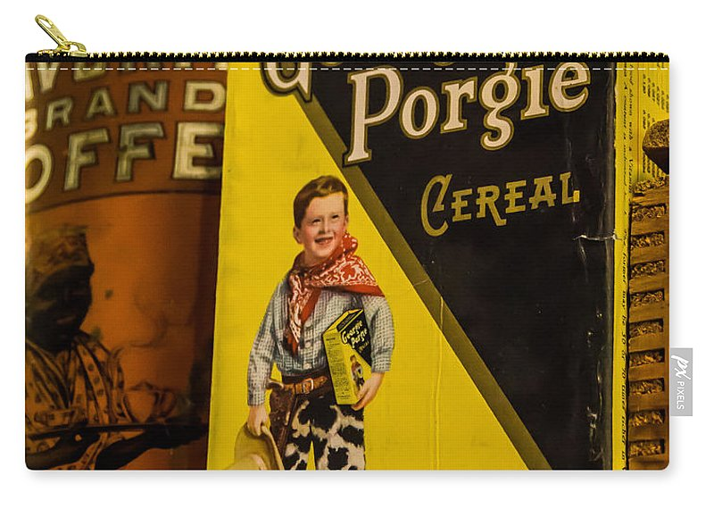 Georgie Porgie Carry-all Pouch featuring the photograph Georgie Porgie by Mick Anderson