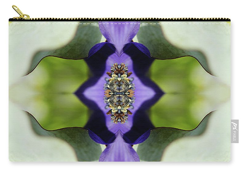 Tranquility Carry-all Pouch featuring the photograph Gerbera Flower by Silvia Otte