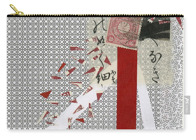 Collage Carry-all Pouch featuring the photograph Getting The Word Out 2 by Carol Leigh