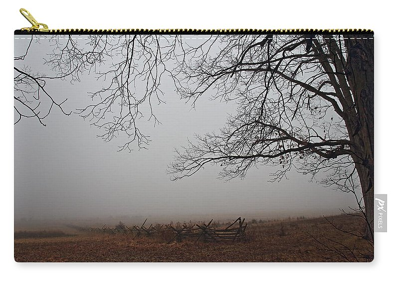 Gettysburg Carry-all Pouch featuring the photograph Gettysburg by David Rucker
