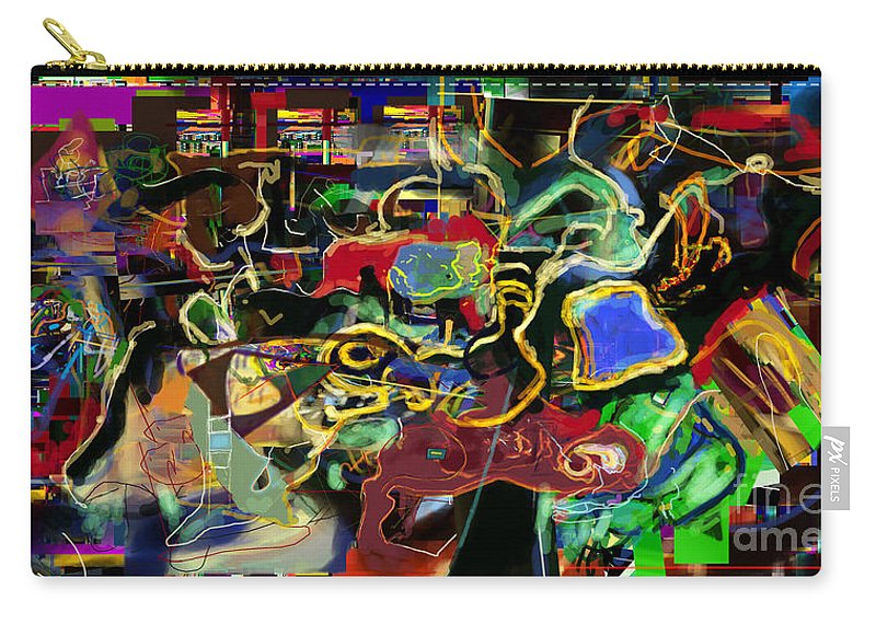 Redemption Carry-all Pouch featuring the digital art Geula 14r1 by David Baruch Wolk