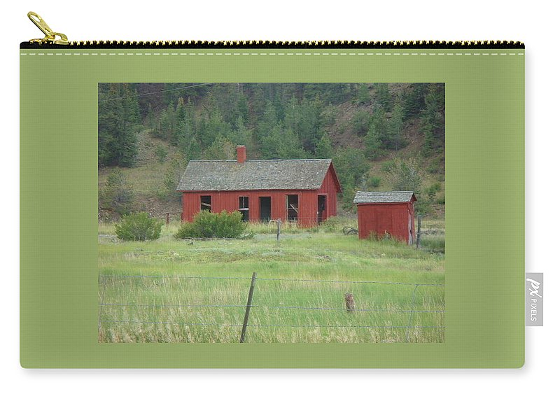 Lyle Carry-all Pouch featuring the painting Ghost Town by Lord Frederick Lyle Morris - Disabled Veteran