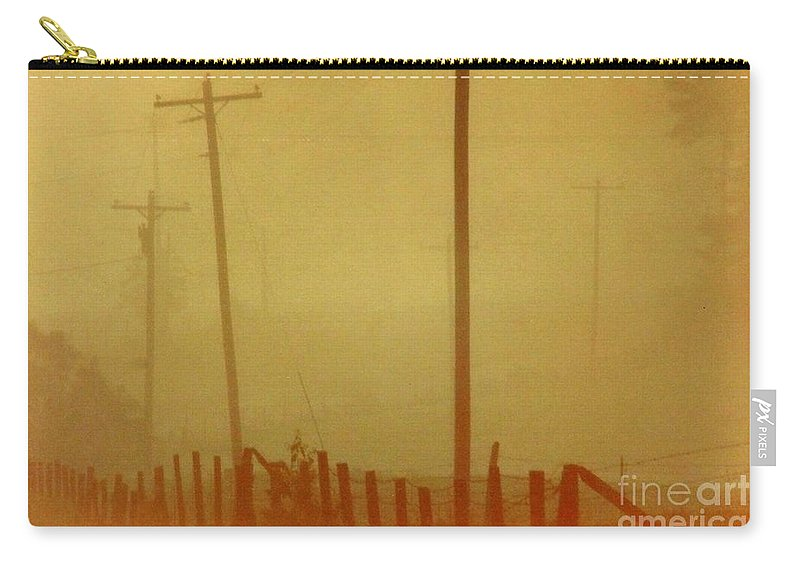 Fog Carry-all Pouch featuring the photograph Mississippi Ghostly Morning by Michael Hoard