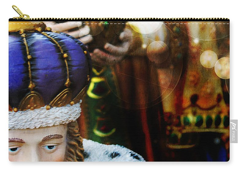 Christmas Carry-all Pouch featuring the photograph Gift Of The Magi by Robin Lewis