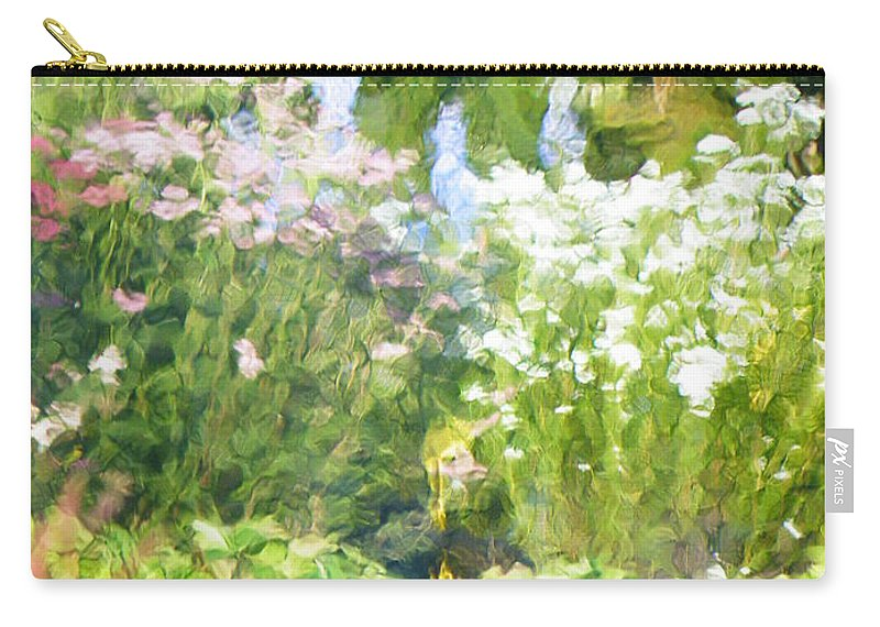Giverny Carry-all Pouch featuring the photograph Giverny North Number Three by Brian Boyle