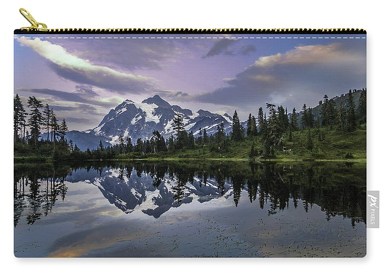 Mt Carry-all Pouch featuring the photograph Glaciated by Ryan McGinnis
