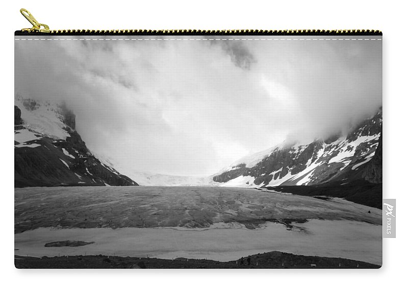 Glacier Carry-all Pouch featuring the photograph Glacier Field by Stephanie Bland