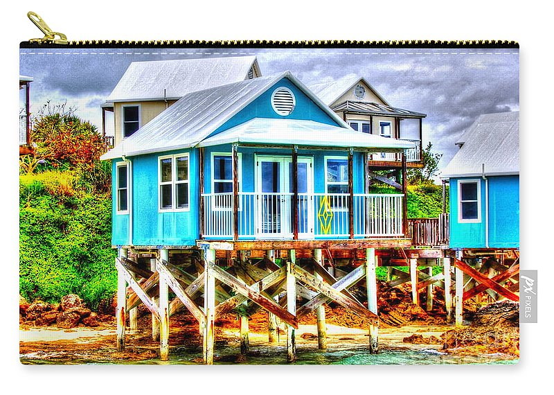 Bermuda Carry-all Pouch featuring the photograph Glamping by Debbi Granruth