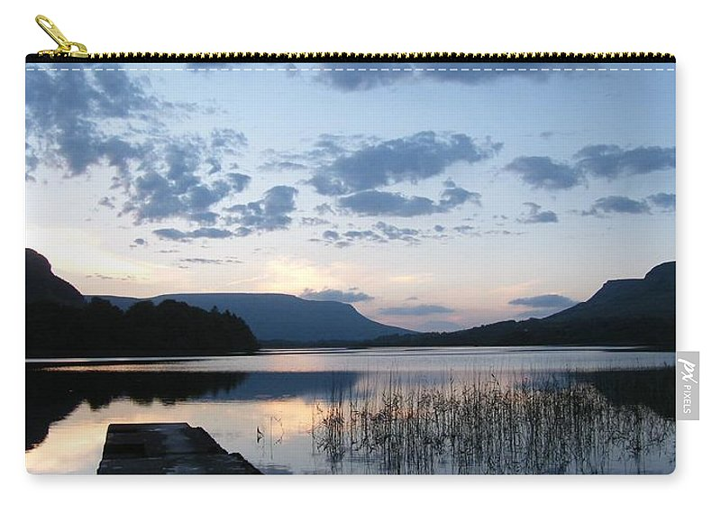 Glenade Lake Co Leitrim Ireland Carry-all Pouch featuring the photograph Glenade Lake Co Leitrim Ireland by Louise Macarthur Art and Photography