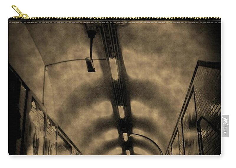 Subway Carry-all Pouch featuring the photograph Gloom by John Malone