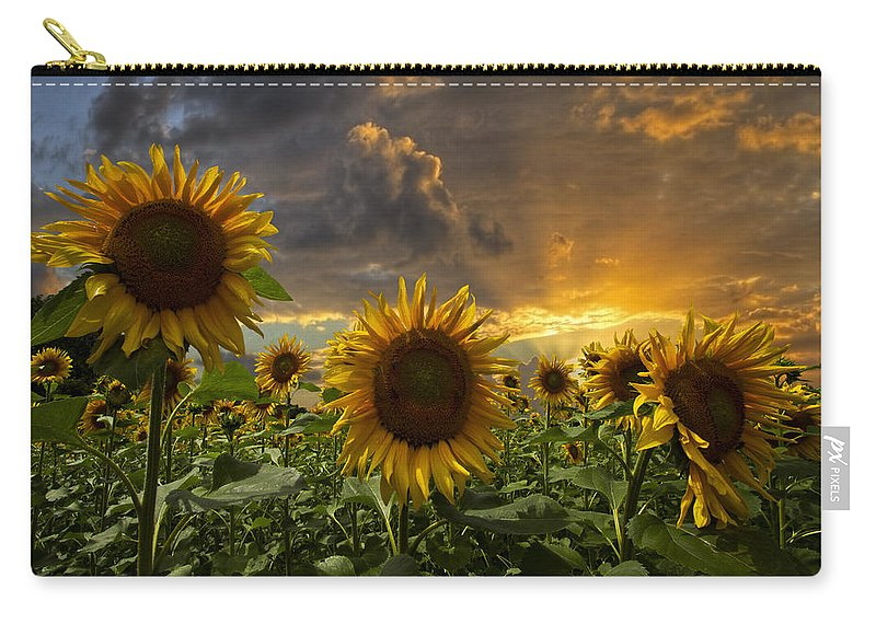 Austria Carry-all Pouch featuring the photograph Glory by Debra and Dave Vanderlaan
