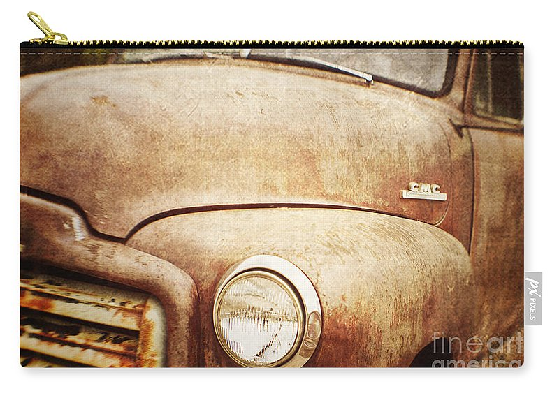 Truck Carry-all Pouch featuring the photograph GMC by Scott Pellegrin