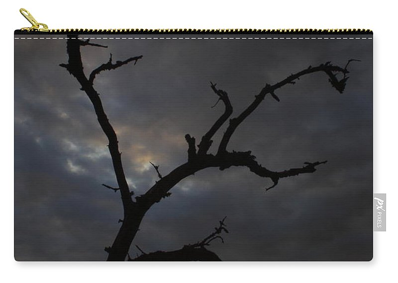 Texas Carry-all Pouch featuring the photograph Gnarly by Andrew McInnes