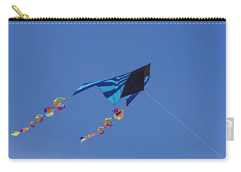 Kite Carry-all Pouch featuring the photograph Go Fly A Kite by David Kay