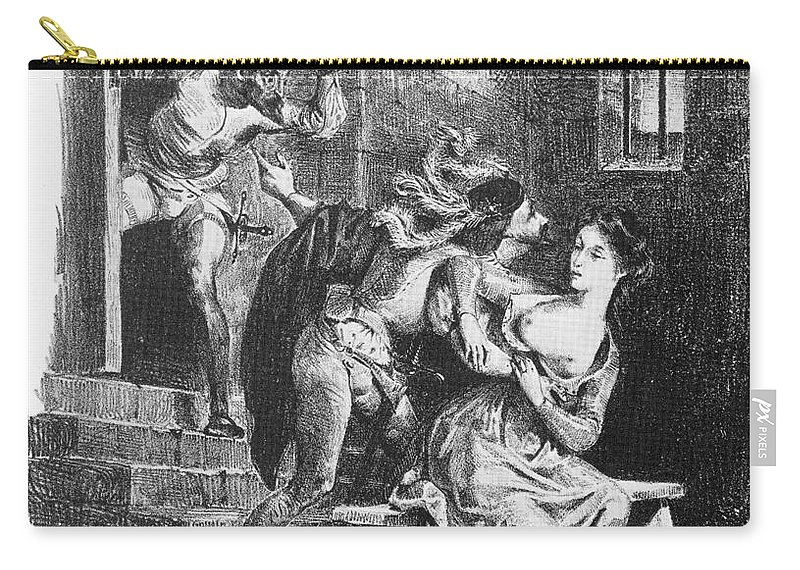19th Century Carry-all Pouch featuring the photograph Goethe: Doctor Faust by Granger