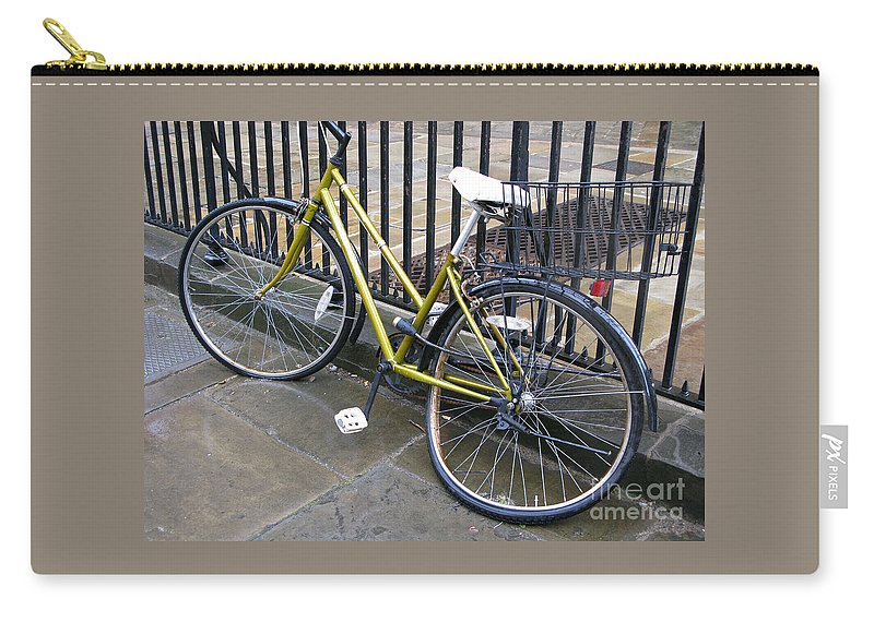 Bicycle Carry-all Pouch featuring the photograph Going Nowhere by Ann Horn
