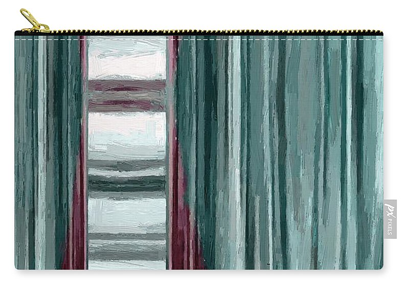 Abstract Carry-all Pouch featuring the painting Going Nowhere by RC DeWinter