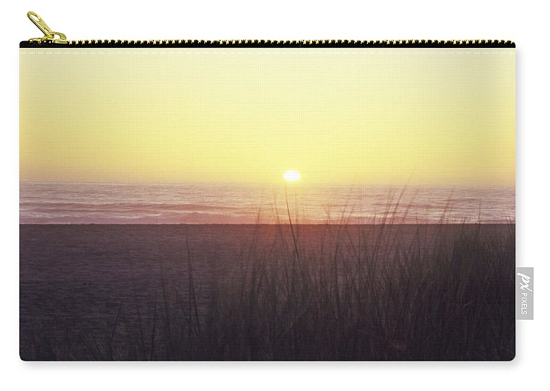 California Carry-all Pouch featuring the photograph Gold Beach Sunset by Susan Rovira