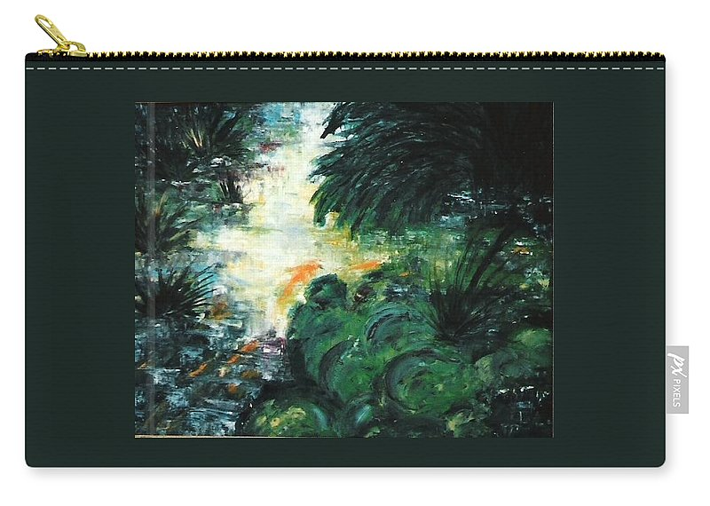 Stolen Carry-all Pouch featuring the painting Gold Fish by Lord Frederick Lyle Morris - Disabled Veteran