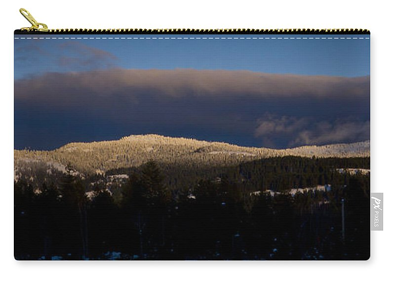 Gold Hill Carry-all Pouch featuring the photograph Gold Mountain by Albert Seger