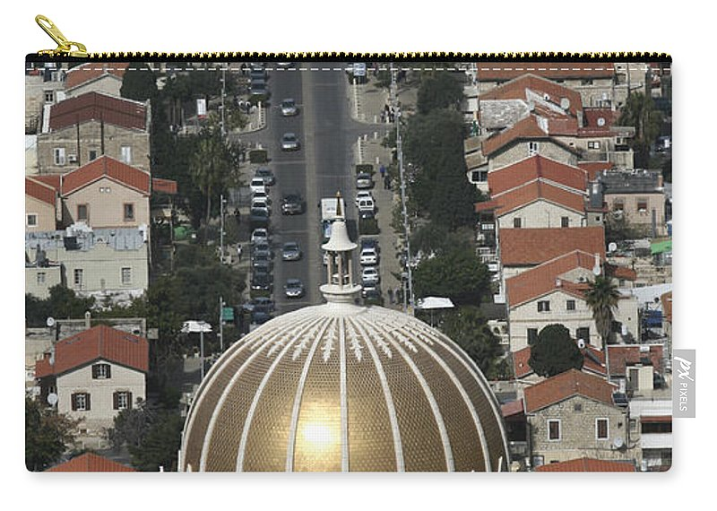 Karen Zuk Rosenblatt Carry-all Pouch featuring the photograph Golden Dome by Karen Zuk Rosenblatt