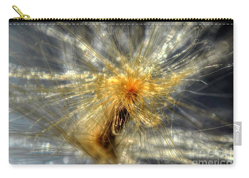 Michelle Meenawong Carry-all Pouch featuring the photograph Golden Dream by Michelle Meenawong