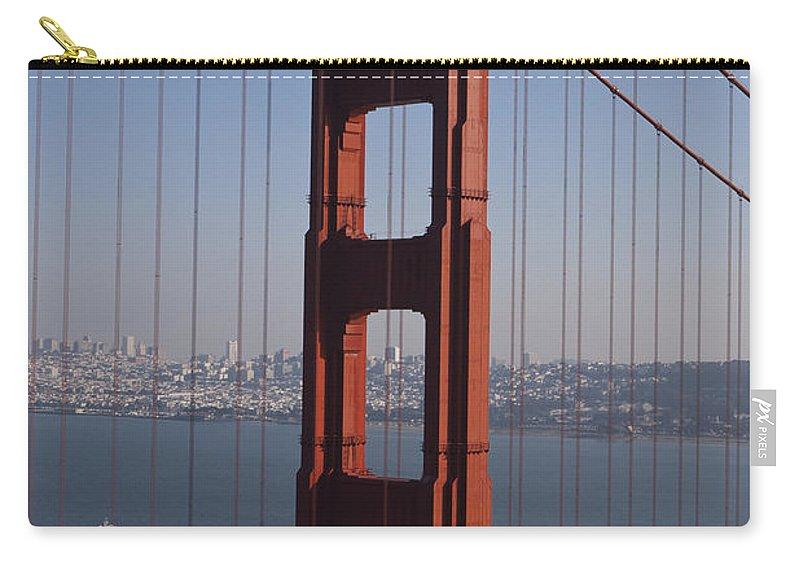 Golden Gate Bridge Carry-all Pouch featuring the photograph Golden Gate Bridge San Francisco by Jason O Watson