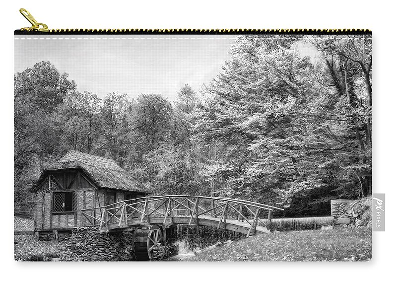 Ir Carry-all Pouch featuring the photograph Gomez Mill by Claudia Kuhn