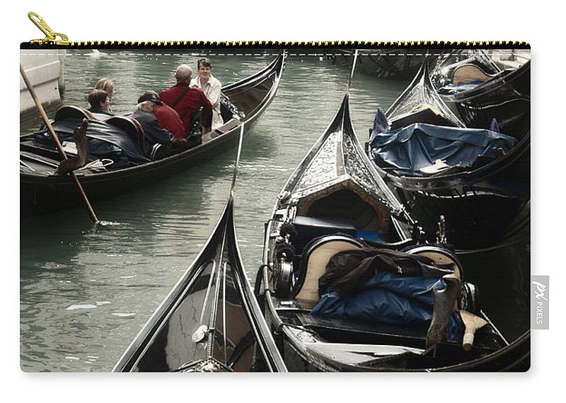 Gondola Carry-all Pouch featuring the photograph Gondola by Kim Pin Tan