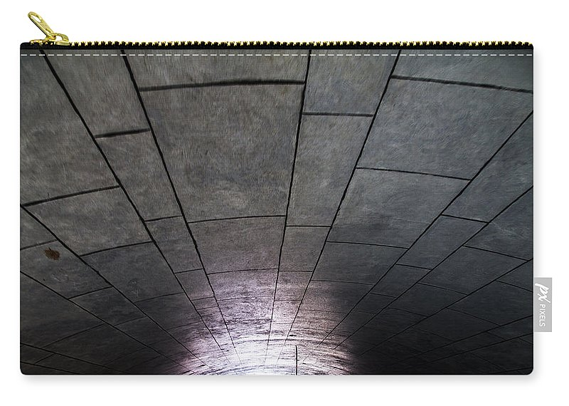 Las Vegas Carry-all Pouch featuring the photograph Gondola Ride Tunnel by Angus Hooper Iii