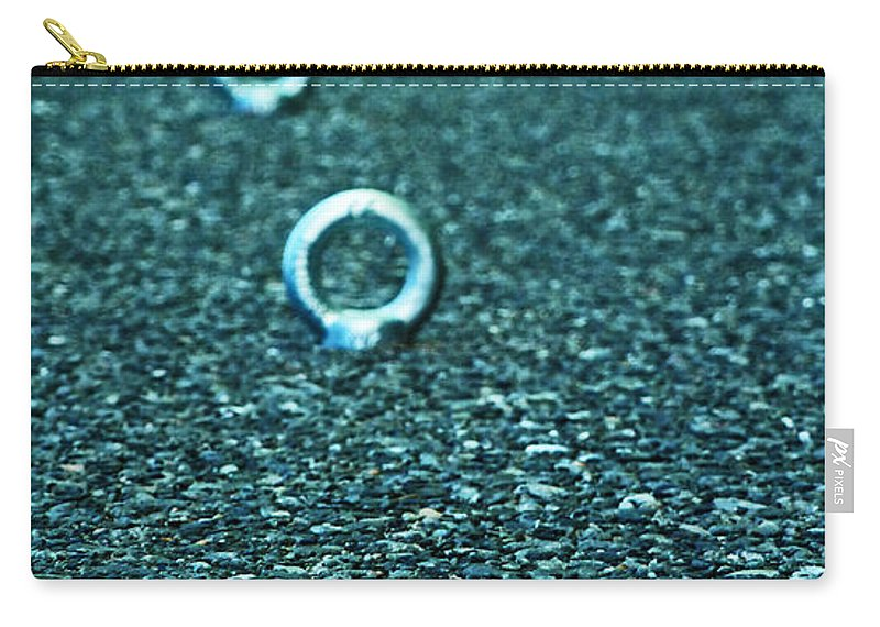 Eyelet Carry-all Pouch featuring the photograph Gone Fishing For Fools by Steve Taylor