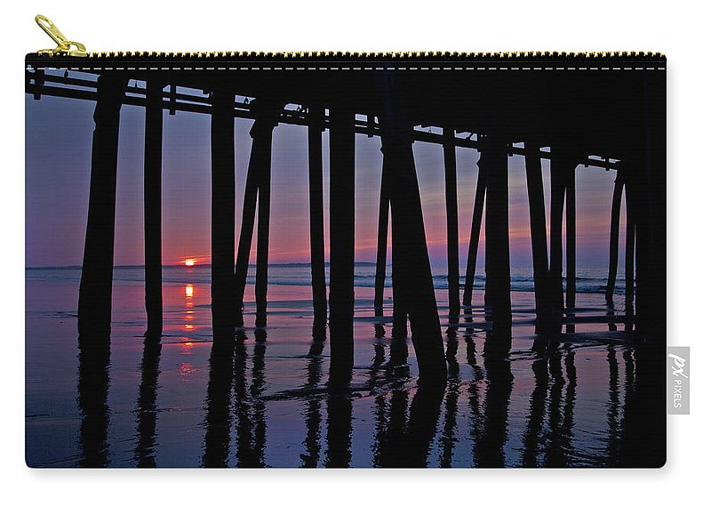 Old Carry-all Pouch featuring the photograph Good Morning Old Orchard Silhouette  by Betsy Knapp