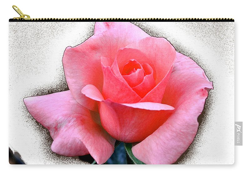 Rose Carry-all Pouch featuring the photograph Good Morning Sun by Jay Milo