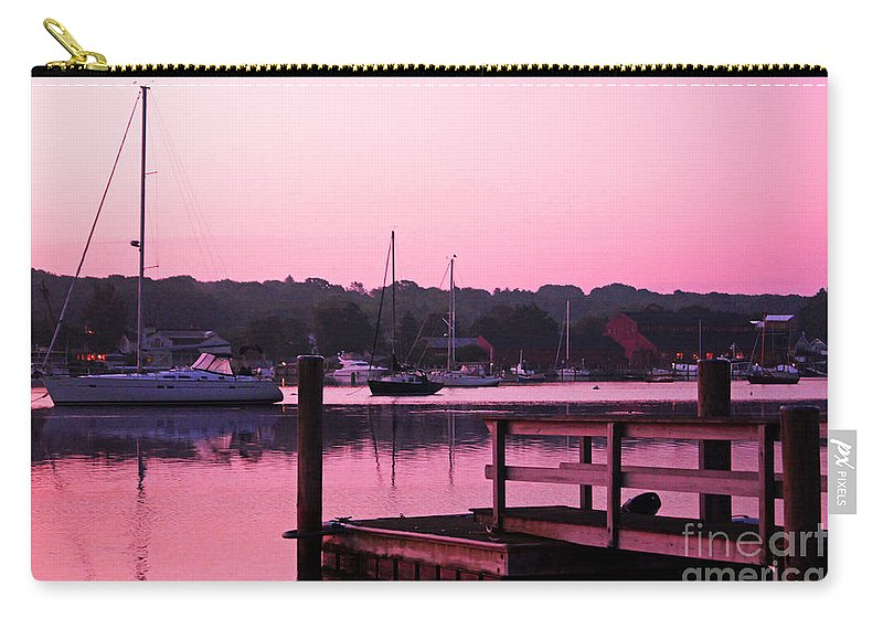 Landscape Carry-all Pouch featuring the photograph Good Mystic Morning by Joe Geraci