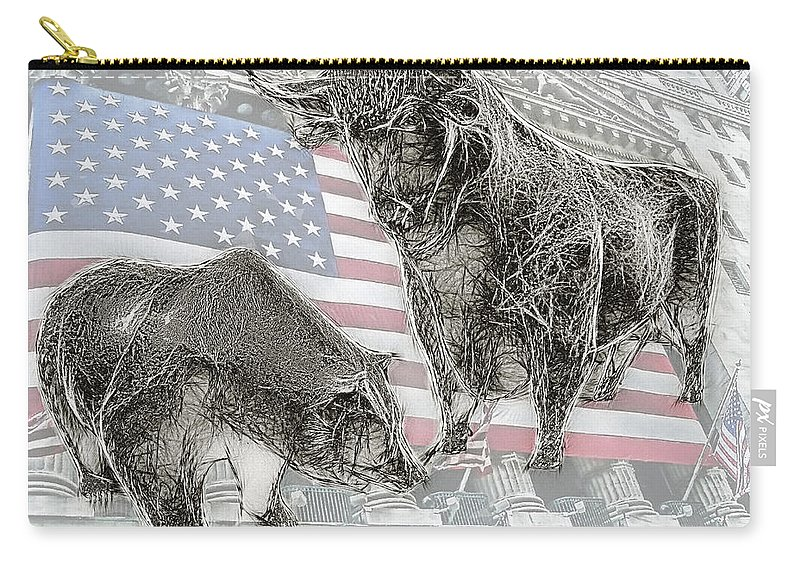 Bear Carry-all Pouch featuring the photograph Good Times . . . Bad Times by Joachim G Pinkawa