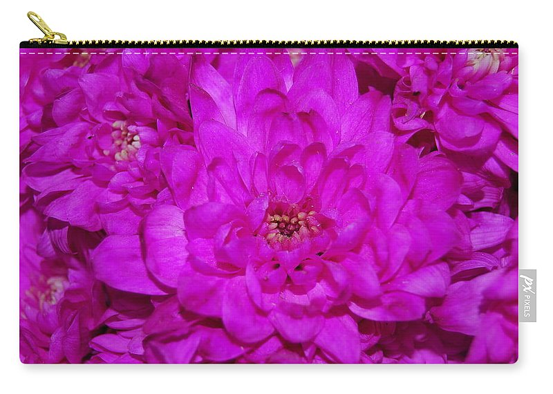 Carry-all Pouch featuring the photograph Gorgeous Pink by Riad Belhimer